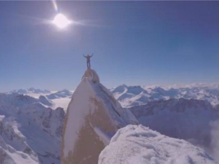 Markus Pucher – zimní výstup na Agujy Guillaumet v Patagonii