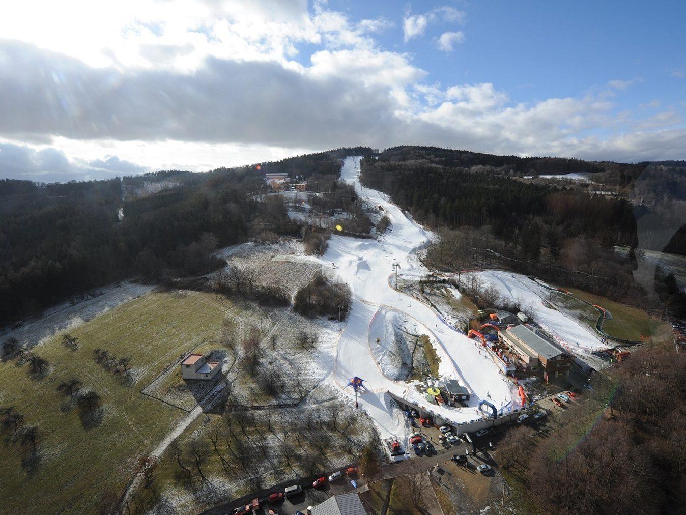 Skiareál Monínec